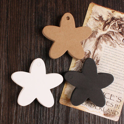 Blank Kraft Paper Hang Tags Wedding Favor Label Gift Cards Price Party Birthday