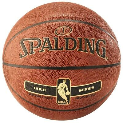 Spalding NBA GOLD IN/OUT Basketball orange Indoor/Outdoor Streetbasketball 7