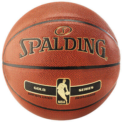 Spalding NBA GOLD IN/OUT Basketball orange Indoor/Outdoor Streetbasketball Gr. 5