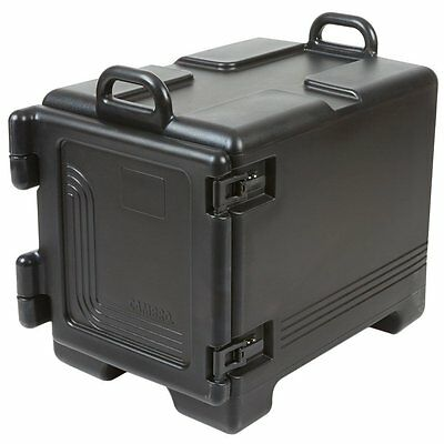 Cambro UPC300110 Ultra Pan Carrier Black Front Loading Insulated Food Pan Carrie