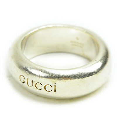 Auth Gucci ring logo used J14591