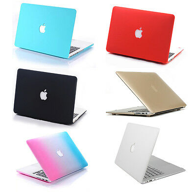 Colorido Goma Ordenador Funda Carcasa Case Protector Para Macbook Air Pro Retina