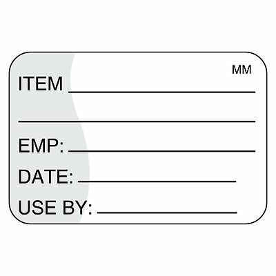 "DayMark Safety Systems IT111221 MoveMark Use by Removable Label, 1"" x 1.5"" Roll"