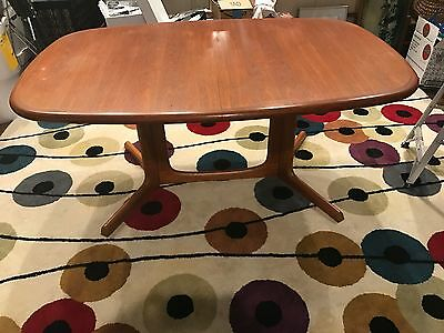 Vintage Danish Mid Century Teak GUDME MOBELFABRIK Dining Room TABLE