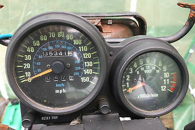KAWASAKI GPZ750 MPH Speedometer Tachometer CLOCKS GPZ Mount Brackets UK Bike