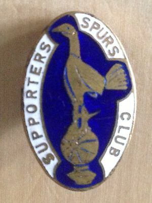 Vintage F.C. TOTTENHAM SUPPORTERS SPURS CLUB Badge