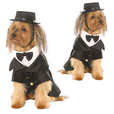 Rubies Pet Shop Dogs Dapper Dog Bowtie And Top Hat Dress Up Costume Outfit