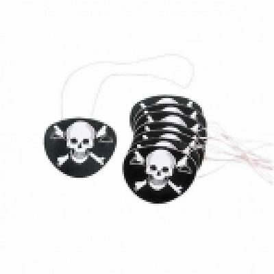 12pk Pirate Eye Patches Favour Birthday Event Party Loot Bag
