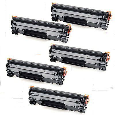 5PK NON-OEM Compatible Black Toner CF283A for HP83A M127fn,M127fw,M125nw,M125rnw