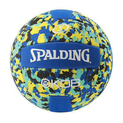Spalding BEACHVOLLEYBALL K.O.B blau/gelb Beach Volleyball