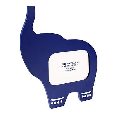 Happy Chic Baby by Jonathan Adler Navy Elephant Shaped Picture Frame - 11.5 inch