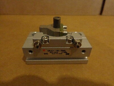 New SMC CRJU1-90-F8NL Pneumatic Rotary Actuator