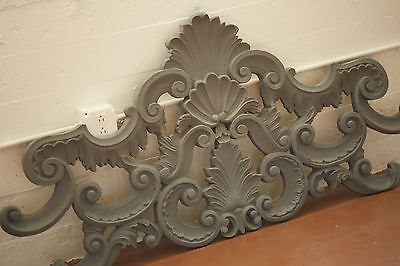 Rare Carved Ornate QUEEN SIZE HEADBOARD or Wall Hanging
