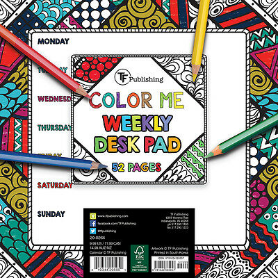 COLOR ME Weekly Desk Mouse Pad