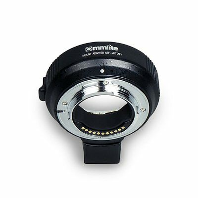Commlite CM-AEF-MFT Electronic AF Auto-Focus mount adapter for Canon Camera