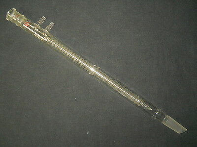 Ace Glass 300mm Coil Reflux Spiral Condenser with 24/40 Joints, 508mm OAL