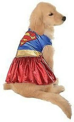 Animal De Compagnie Costume Supergirl Grand Chien