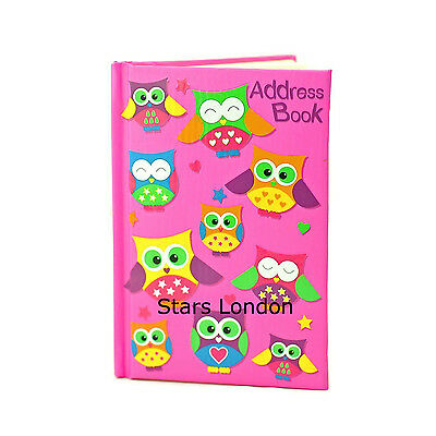 A5 Address Book Padded cover Telephone Address book A-Z Index Notebook