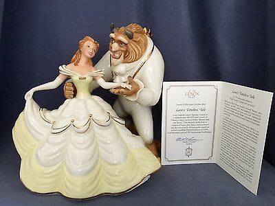 "~Mint in Box with COA~Lenox ""Love's Timeless Tale"" Disney Beauty and the Beast"