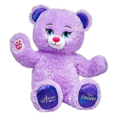 *** BUILD-A-BEAR Un-stuffed Disney FROZEN - ANNA Inspired Bear - NEW * UPDATE