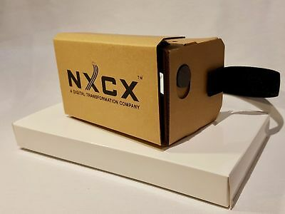 New Offer - NXCX Premium Google Cardboard VR Headset Twin Pack