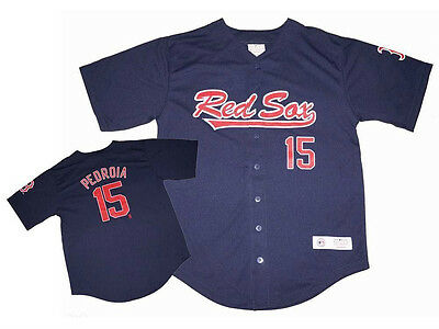 Boston Red Sox Pedroia 15 Short Sleeve Jersey Shirt  Size 3T (Toddler) - NWT