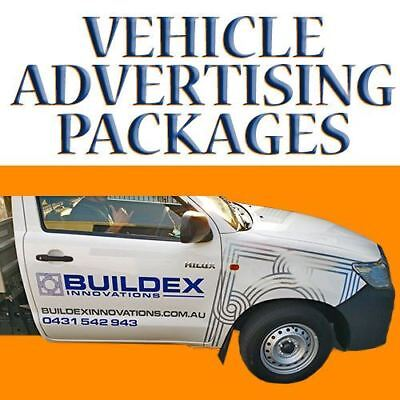 Custom Car Advertising - Many Packages - With Design* - High Quality 3M Vinyl