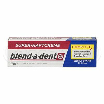 Blend-a-Dent Denture Super Adhesive Cream: STRONG - Made in Germany