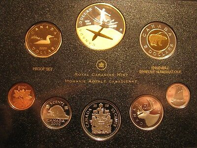Canada 2009 DD 8 coin Proof Set Com.100th years Flight *No Outer Black Sleeve*
