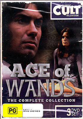 Ace Of Wands - The Complete Series (DVD, 2013, 3-Disc Set) REGION 4 PAL NEW