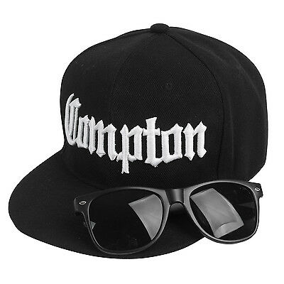 Compton Costume Kit (Includes snapback hat and black way sunglass)