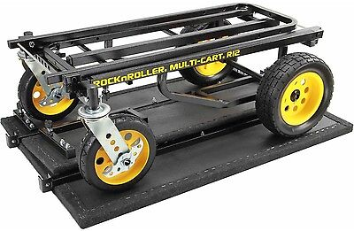 Rock N Roller RSHM2 Multi Cart 2 Tier Multimedia Shelf
