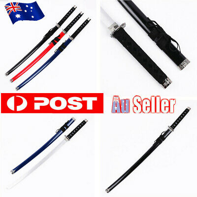 100CM Kendo Bokken Wooden Sword Katana Fencing Training Cosplay Samurai Sword