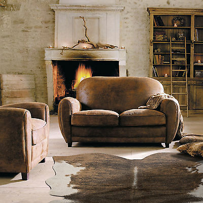 Large Cowhide Rugs Tan Beige Animal Leather Fur Soft Carpet Premium Quality