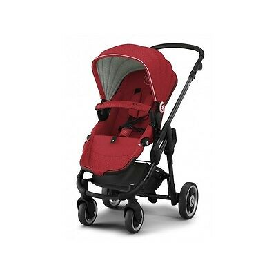 Silla de paseo Evoglide 1 Ruby Red de Kiddy
