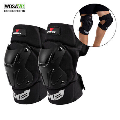 Racing Knee Pads Protector Motorcycle Motocross Bike Knee Guards Armor Safety