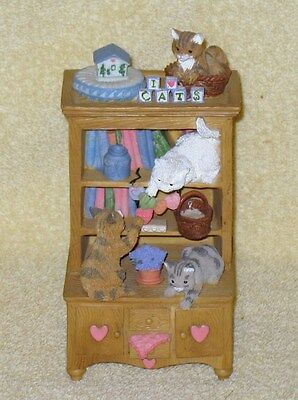 "Pet Tales ""it's A Cats Life "" Music Box Nb"