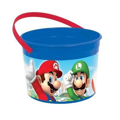 Super Mario Favour Container Childrens Birthday Party Loot Bag