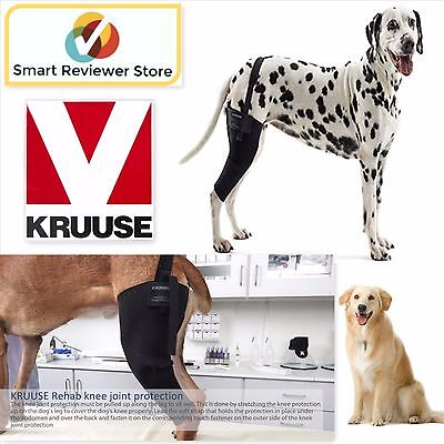 Dogs Brace Rehab Right Knee Protector Dog Leg Protectors Size S Small By Kruuse