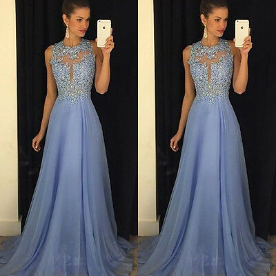 Long Formal Prom Dress Cocktail Party Ball Gown Evening Bridesmaid Dresses