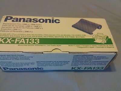 Panasonic Kx-Fa133 Fax Machine Replacement Film  656 Feet - New Sealed