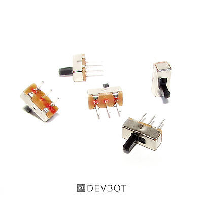 2, 5 ou 10 Interrupteur 2 positions 3 Pin 3,7 x 8,5 ON/OFF. Switch, DIY, Arduino