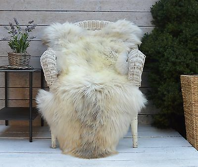 Luxury Sheepskin Rug, Throw, Blanket, Very Rare Breed Multi - Size XXL