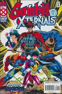 Gambit and the X-Ternals (1995) #1 (March '95, Marvel) 9.2 NM-