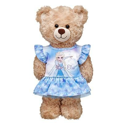 *** Build-A-Bear BABW Disney FROZEN ELSA Fashion Dress Blue - Item No.024253 NEW
