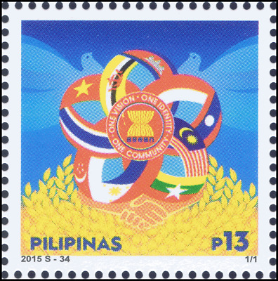 ASEAN 2015: One Vision, One Identity, One Community -PHILIPPINES- (MNH)