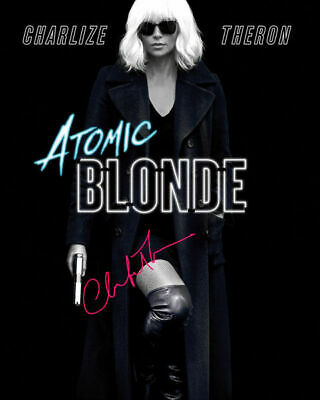 Atomic Blonde Charlize Theron Lorraine Broughton Signed Photo Autograph Reprint