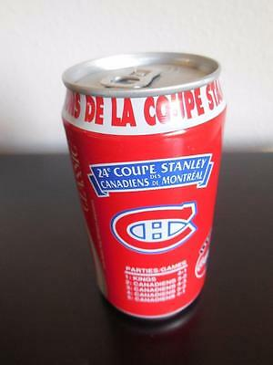 1993 Coke Coca Cola 24th Stanley Cup Can from Canada