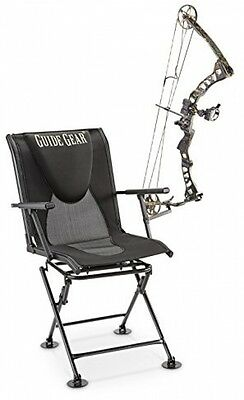 Guide Gear 360° Swivel Hunting Blind Chair Gear Comfort ground blind seat New