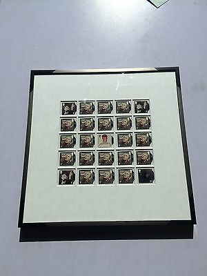 Stunning David Bowie Framed Stamps Any Variation And Size